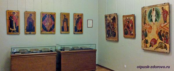 Выставка икон, Историко-художественный музей, Серпухов