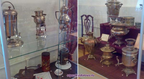 Выставка самоваров, Историко-художественный музей, Серпухов
