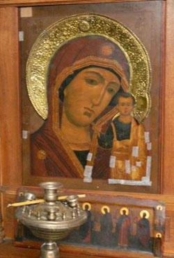 Образ Тихвинской Богородицы, Старообрядческая церковь Покрова Пресвятой Богородицы, Серпухов