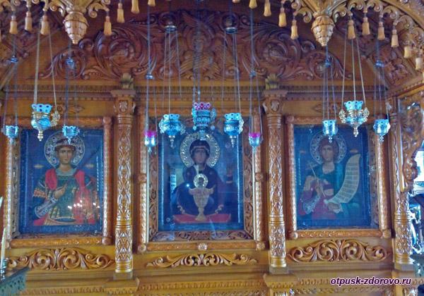 Икона Неупиваемая Чаша, Высоцкий монастырь, Серпухов