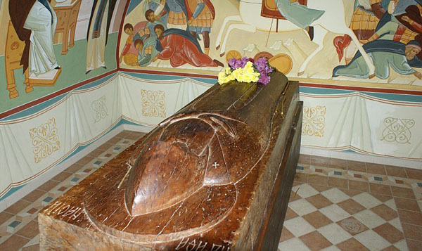 Часовня Афанасия Серпуховского на месте его захоронения, Высоцкий монастырь, Серпухов