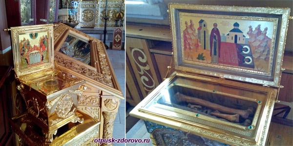 Святыни Никольского храма, Высоцкий монастырь, Серпухов
