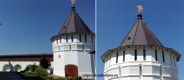 Крепостные стены и Башни, Высоцкий монастырь, Серпухов