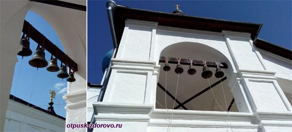 Звонница на лестнице Зачатьевского храма, Высоцкий монастырь, Серпухов