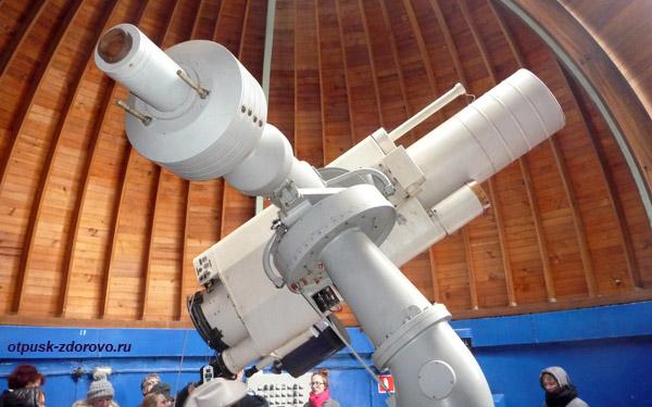 Звенигородская обсерватория, астрограф Цейс-400, диаметр линз 40 см