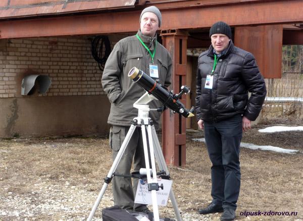 Московский Астрономический Клуб в Звенигороде, телескопы