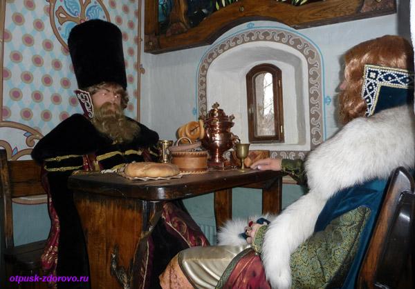 Саввино-Сторожевский монастырь, за рюмкой чая