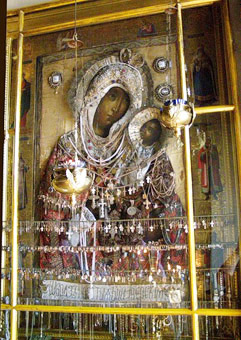 Благовещенский монастырь в Муроме, чудотворная Иверская икона Божьей Матери