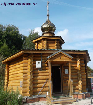 Село Карачарово, Муром, часовня Ильи Муромца