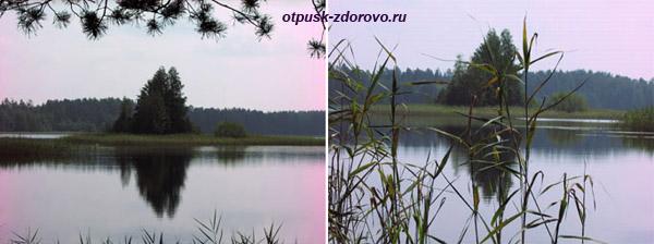 Святое озеро в Дедово, Навашинский район