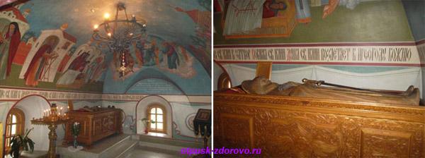 Спасо-Преображенский монастырь в Муроме, Покровский собор, мощи Илии Муромца