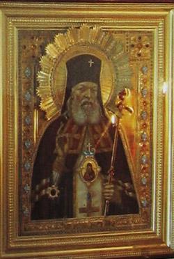 Икона святого архиепископа Луки Войно-Ясенецкого в Муроме