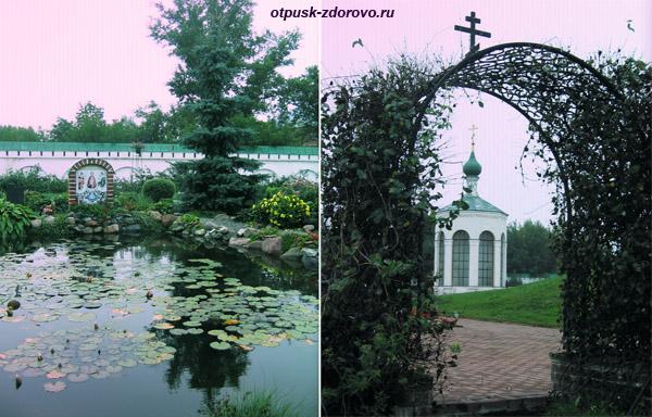 Спасо-Преображенский монастырь, Муром, пруд и часовня