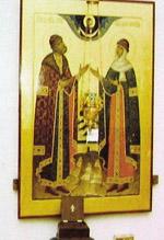 Покровский собор, Муром, Икона Петра и Февронии Муромских Чудотворцев