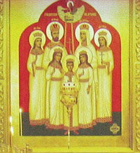 Покровский собор, Муром, Икона Царственных мучеников