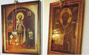 Покровский собор, Муром, Икона Александра Невского и святителя Николая