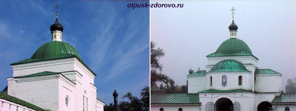 Спасо-Преображенский монастырь в Муроме, Надвратный храм Кирилла Белозерского