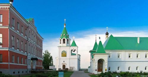 Спасо-Преображенский монастырь в Муроме, Палаты настоятеля и братский корпус