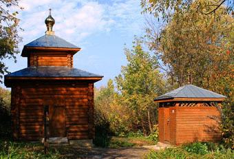 Николо-Набережная церковь в Муроме, источник и купальня