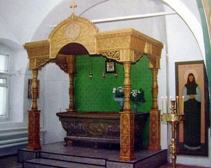 Николо-Набережная церковь в Муроме, мощи Иулиании Лазаревской