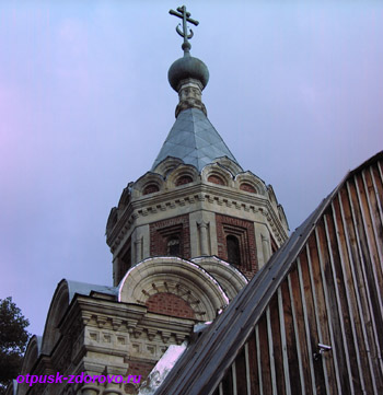 Усадьба Храповицкого в Муромцево, церковь