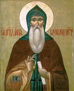 Икона преподобного Илии Муромца, Киево-Печерского чудотворца