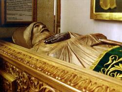 Гробница Ильи Муромца с частицей мощей, Муром, Спасо-Преображенский монастырь