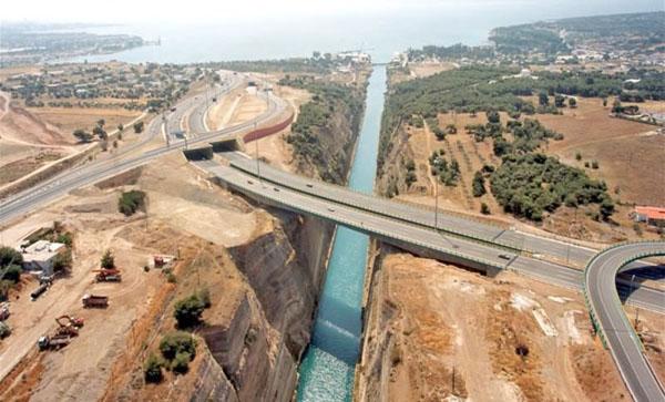 Платная магистраль через Коринфский канал, Греция