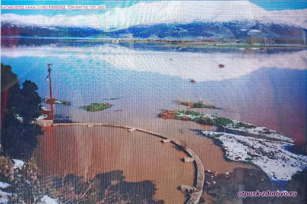 Наводнение на плато Мантинеа и Катавотрес, Аркадия-Пелопоннес