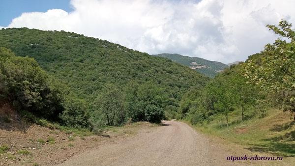 Дорога в горах, ведущая в неизвестность