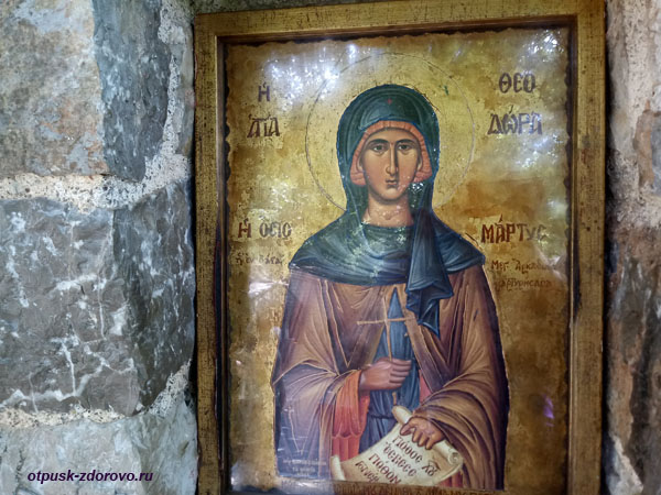 Икона святой Феодоры Васты