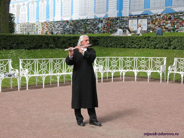 Екатерининский дворец и парк в Царском Селе (город Пушкин)