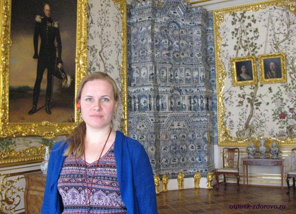 Екатерининский дворец в Царском Селе (город Пушкин), залы