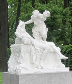Скульптуры Летнего сада в Санкт-Петербурге, Амур и Психея