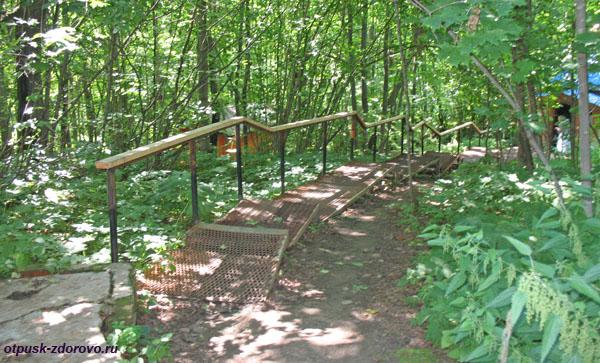 Лестница к купальне