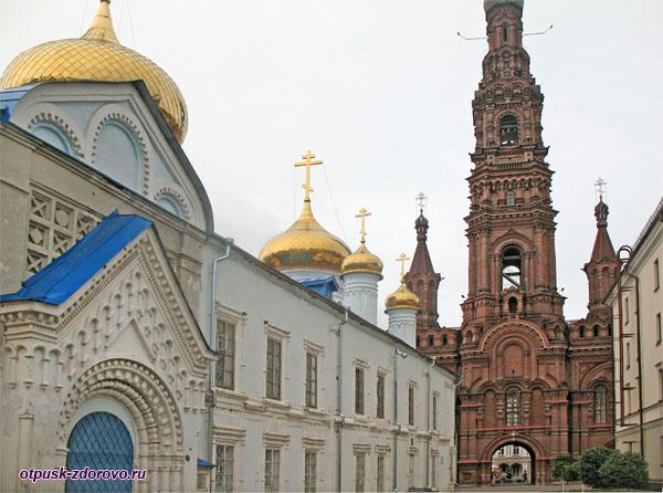 Богоявленский собор и Колокольня, Казань
