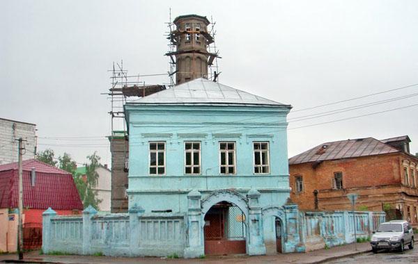 Восстановление Голубой мечети в Казани