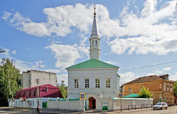 Голубая мечеть в Казани