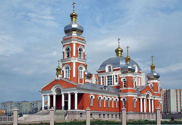 Храм Серафима Саровского в Казани