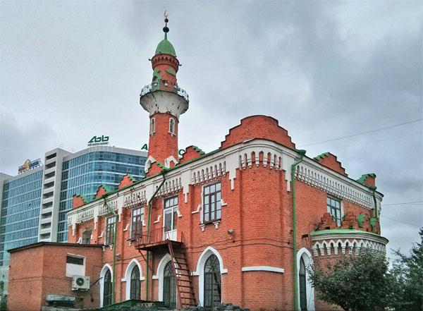 Закабанная мечеть, Казань
