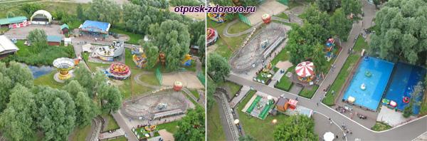 Парк Кырлай вид сверху, Казань