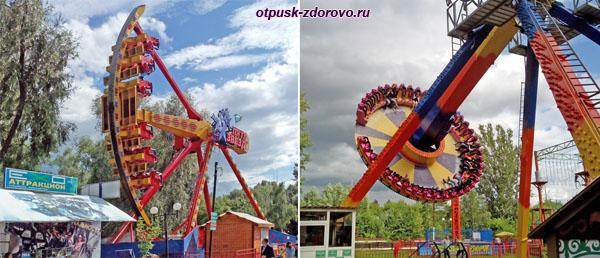 Экстремальные качели, Парк Кырлай, Казань