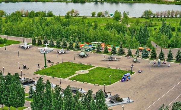 Музей военной техники под открытым небом, Парк Победы, Казань