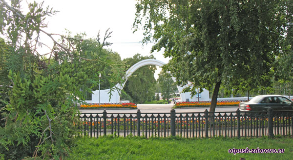 Арка влюблённых, Парк Чёрное озеро в Казани