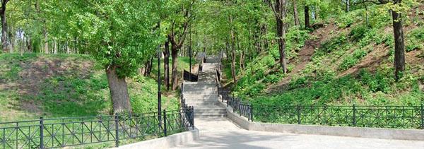 Сад Эрмитаж, Парки и скверы Казани