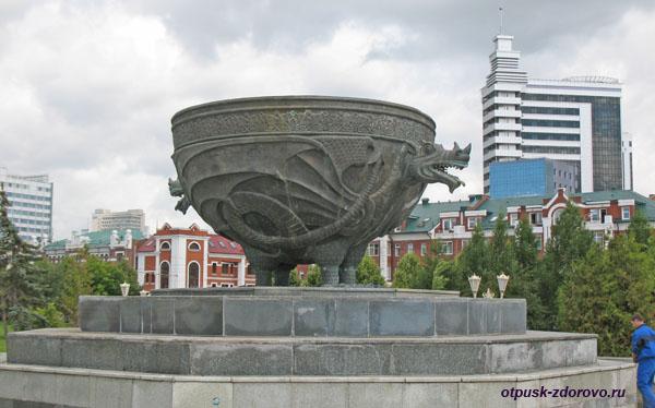 Чаша фонтана, Парк 1000-летия Казани