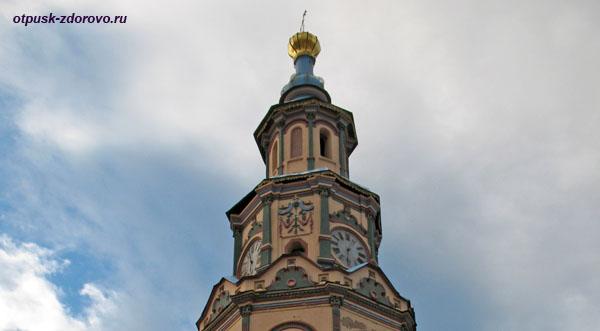 Часы на колокольне Петропавловского собора, Казань