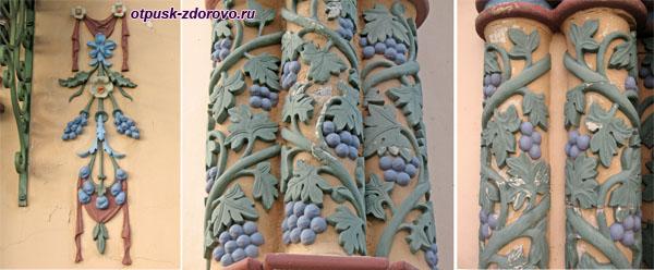 Сказочные орнаменты Казанского Петропавловского собора