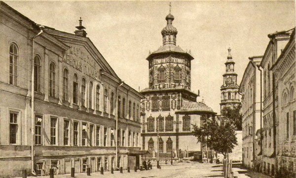 Петропавловский собор до революции, Казань