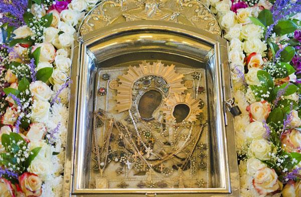 Грузинская икона Божией Матери в Раифском монастыре